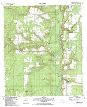 Clarksville topo map
