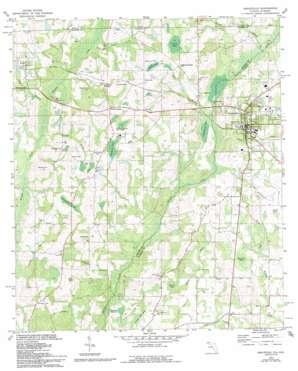 Graceville topo map