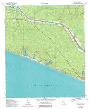 Point Washington topo map