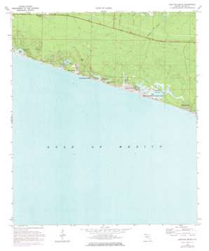 Grayton Beach topo map