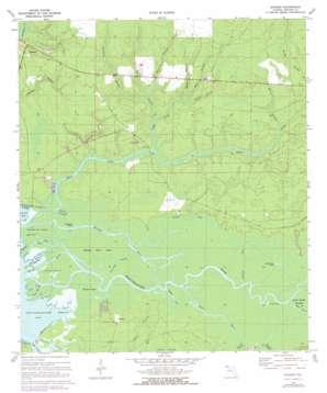 Bunker topo map