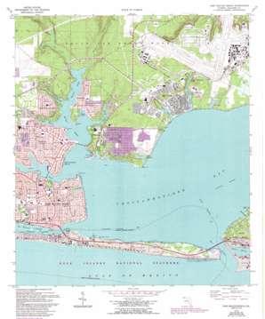 Fort Walton Beach topo map