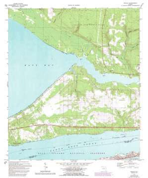 Holley topo map