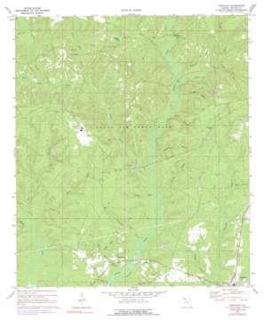 Portland topo map