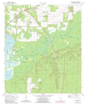 Ward Basin topo map