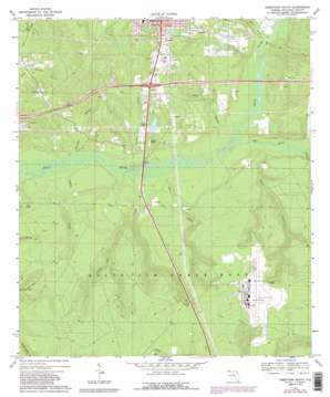 Crestview South topo map