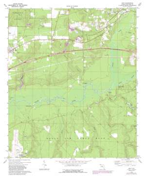 Holt topo map