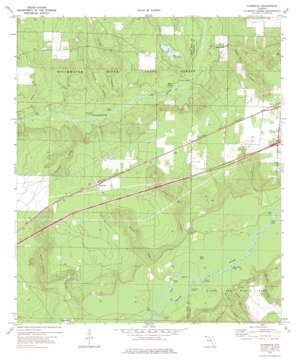 Floridale topo map