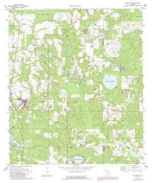 Glendale topo map