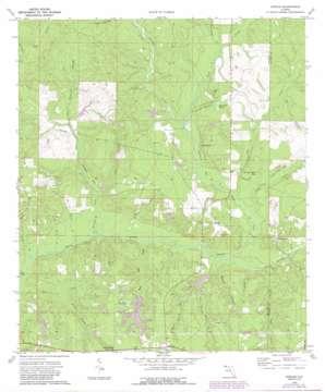Dorcas topo map