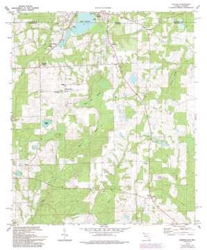 Paxton topo map