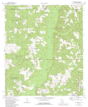 Oak Grove topo map