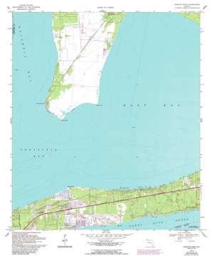 Garcon Point topo map