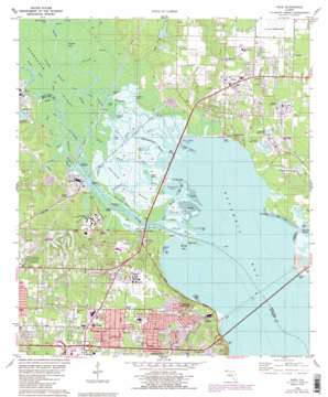 Pace topo map
