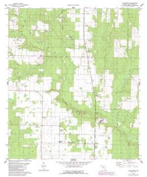 Allentown topo map