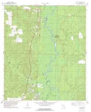 Mcdavid topo map