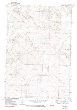 Shields Sw topo map