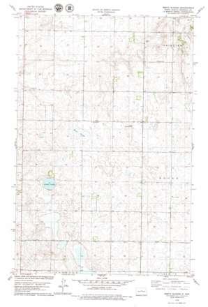 Mertz Slough topo map