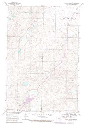Lincoln Valley Sw topo map