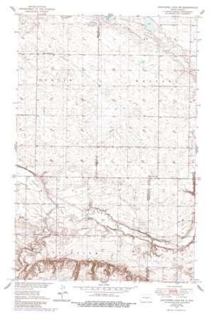 Sheyenne Lake Ne topo map