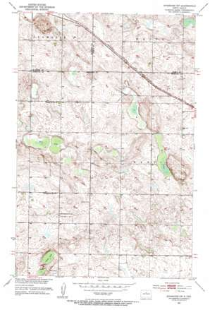 Anamoose Sw topo map