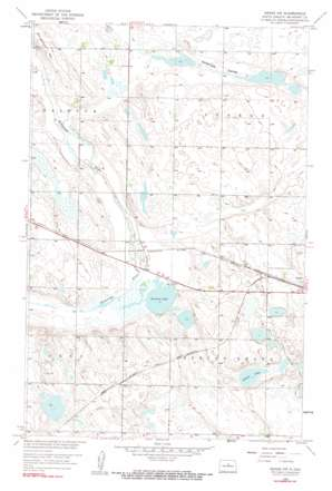 Drake Nw topo map