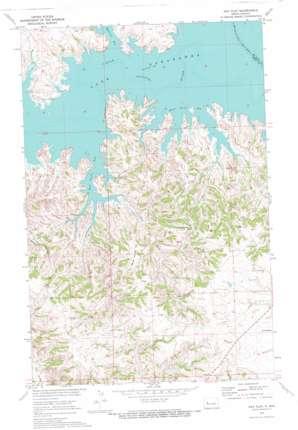 Hay Flat topo map