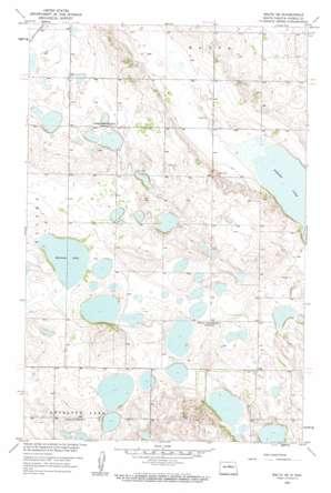 Balta SE USGS topographic map 48100a1