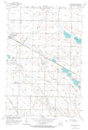 Karlsruhe topo map