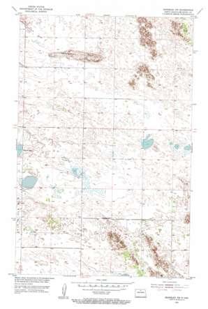 Rangeley Nw topo map