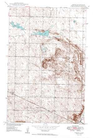 Simcoe topo map