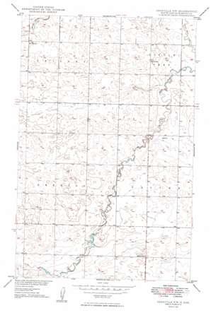 Granville Nw topo map