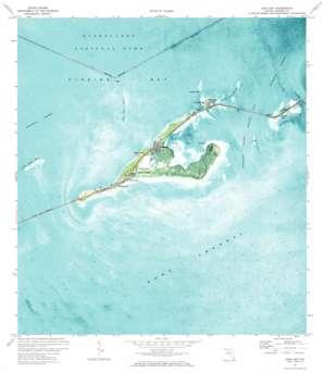 Long Key topo map