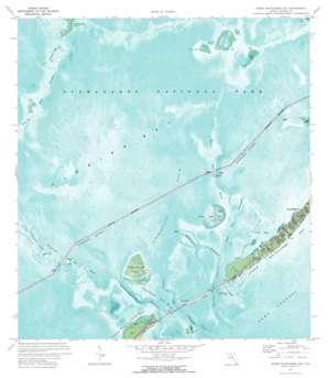 Upper Matecumbe Key USGS topographic map 24080h6