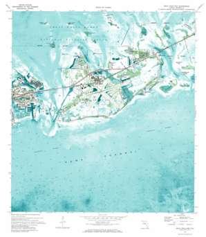 Boca Chica Key USGS topographic map 24081e6