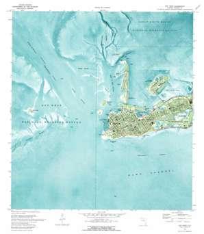 Key West USGS topographic map 24081e7