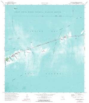 Sevenmile Bridge USGS topographic map 24081f2