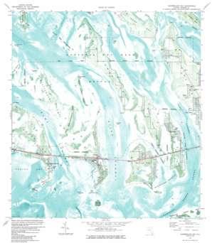Summerland Key topo map
