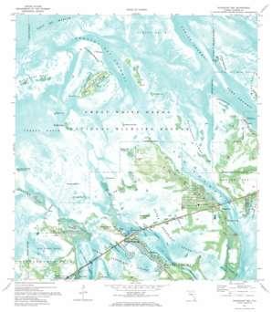 Sugarloaf Key USGS topographic map 24081f5