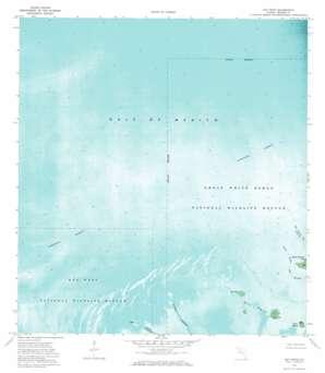 Bay Keys USGS topographic map 24081f7