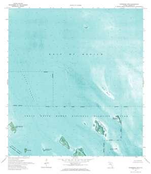 Horseshoe Keys USGS topographic map 24081g3