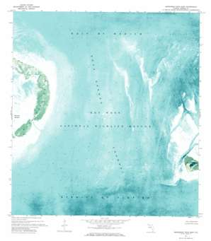 Marquesas Keys East USGS topographic map 24082e1