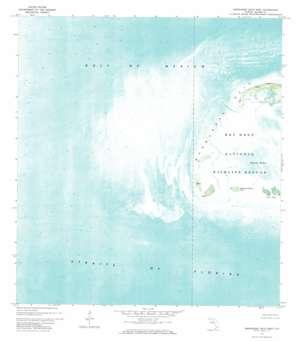 Marquesas Keys West USGS topographic map 24082e2