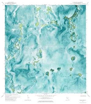 Calusa Keys USGS topographic map 25080a6