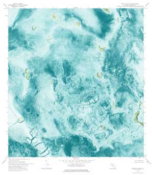 Pelican Keys USGS topographic map 25080a7