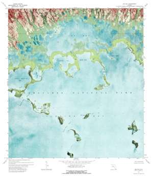Joe Bay USGS topographic map 25080b5