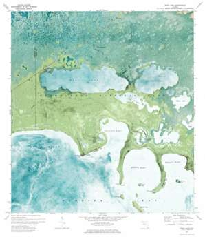 West Lake USGS topographic map 25080b7