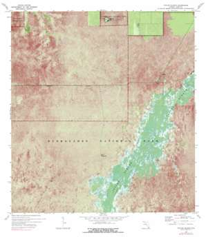 Taylor Slough USGS topographic map 25080c6