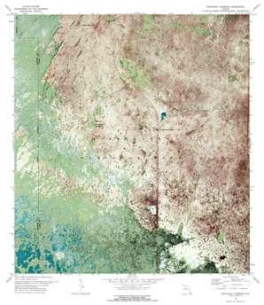 Mahogany Hammock USGS topographic map 25080c7