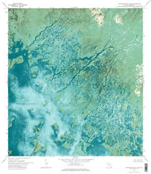 Whitewater Bay East USGS topographic map 25080c8